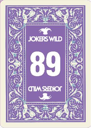 Buy a Jokers Wild Louisville raffle ticket today! Jokers Wild Raffle Card 89