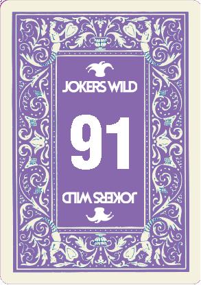 Buy a Jokers Wild Louisville raffle ticket today! Jokers Wild Raffle Card 91