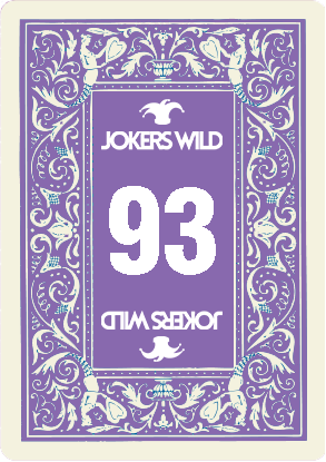 Buy a Jokers Wild Louisville raffle ticket today! Jokers Wild Raffle Card 93
