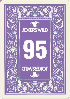 Buy a Jokers Wild Louisville raffle ticket today! Jokers Wild Raffle Card 95