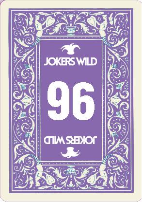 Jokers Wild Raffle Card 96