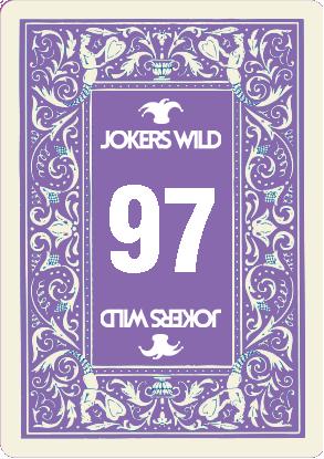 Buy a Jokers Wild Louisville raffle ticket today! Jokers Wild Raffle Card 97