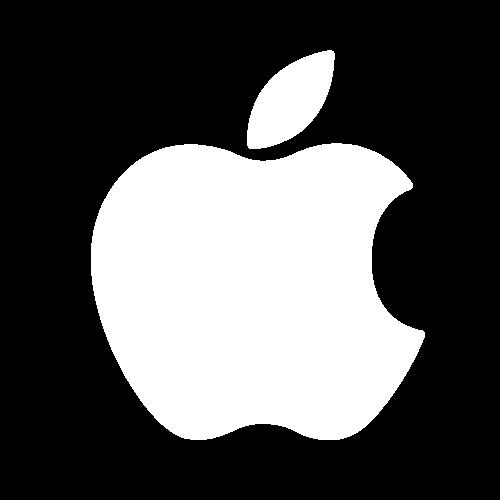 Copy of Apple logo-white